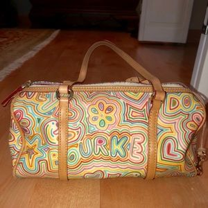 Rainbow Dooney and Bourke Purse